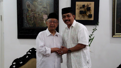 "Demi "" Restu""  Ulama, Gus Syaf Kunjungi Tebuireng, Jelang Pencalonan Bupati Jombang"