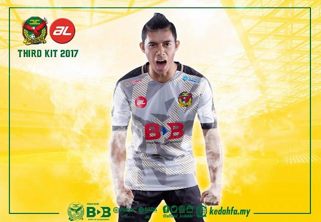 Jersi Kedah 2017 Third Kit AL Sports by Syafiq Ahmad