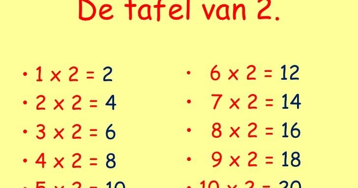 Tafel Van 2.Sint Jozef Kortrijk L2a De Tafel Van 2