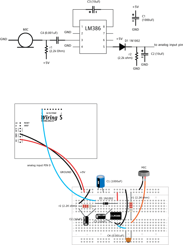 speaker mic wiring diagram