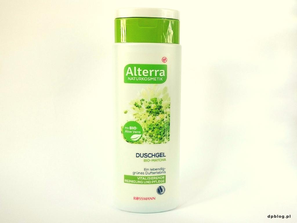 Alterra żel pod prysznic z zieloną herbatą
