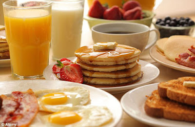 تناول إفطارك
