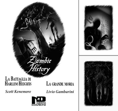 Zombie History (cover e due illustrazioni interne)