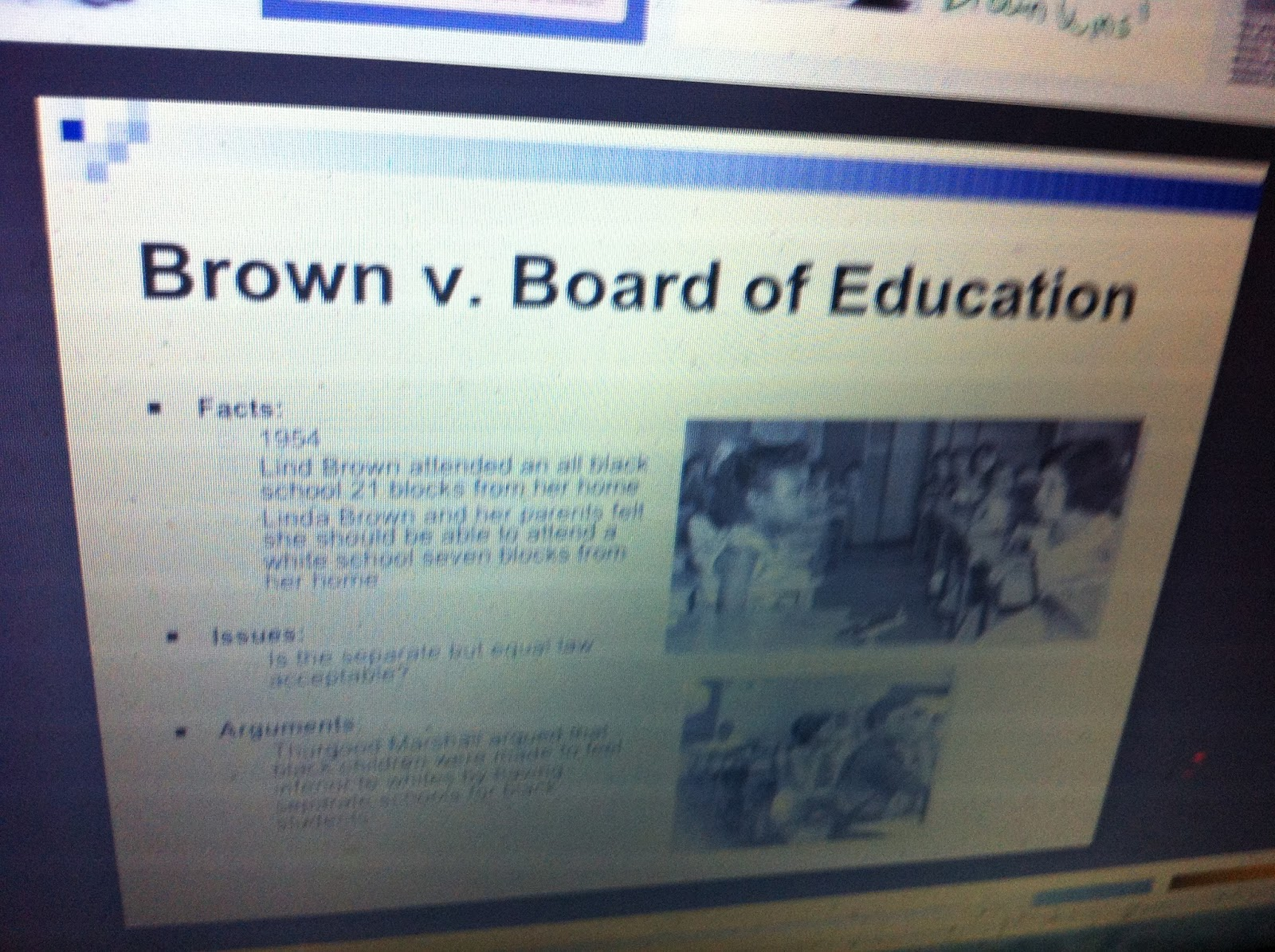 brown v board of education a landmark case in the history of american education Brown v board of education of topeka is the landmark case in the united states   held an active role in the case and it remains a vibrant part of the firm's history   reached the us supreme court, it was still known by the name of brown v.