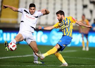LIVE: ΑΠΟΕΛ 5-0 ΑΟΑΝ, κύπελλο Κύπρου Coca-Cola «Εύκολη επικράτηση και πρόκριση»