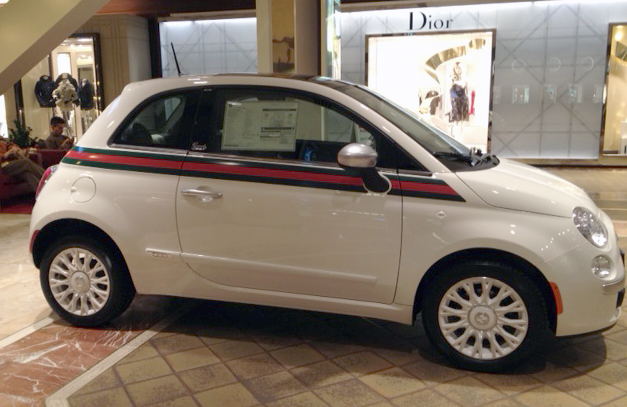 A Proper Bostonian: Car Candy: The Gucci Fiat 500