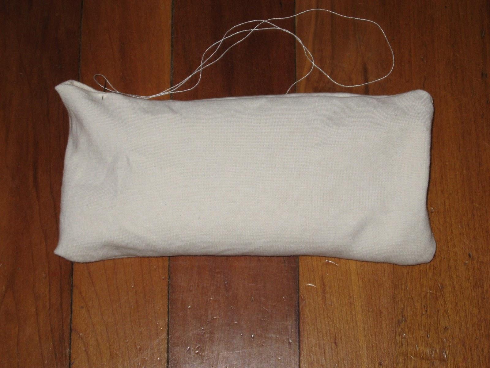 The Domestic Yogi How To Make An Eye Pillow