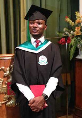Nigerian student graduates with 5.0 CGPA in Russian University