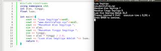 Kumpulan Contoh Program C++