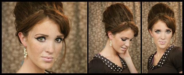 Astounding The Freckled Fox Hair Tutorial Amy Winehouse Beehive Short Hairstyles For Black Women Fulllsitofus
