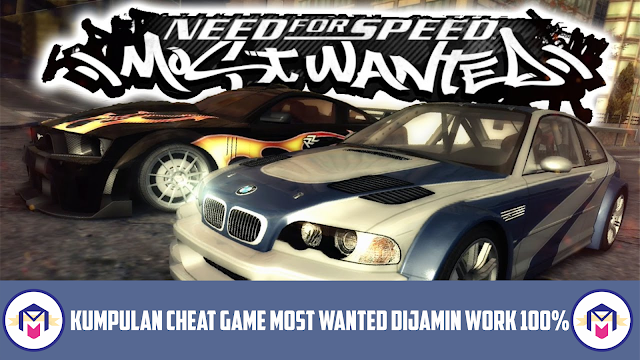 kumpulan semua cheat nfs most wanted black edition