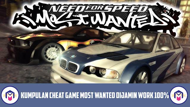 Kumpulan Cheat NFS Most Wanted PC Menggunakan Cheat Engine