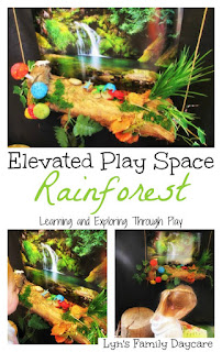 Rainforest Small World - Elevated Play Spaces - Early Years - Learning and Exploring Through Play