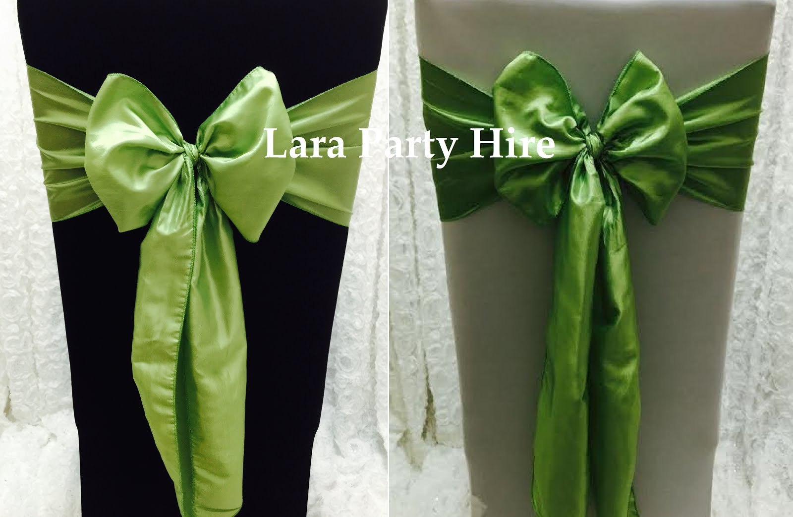 Lime Green Sashes