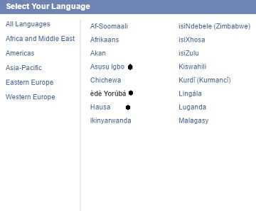 BREAKING: Zuckerberg Fulfills Promise; Adds Yoruba, Igbo To Facebook Languages, See How To Change Your Facebook Language