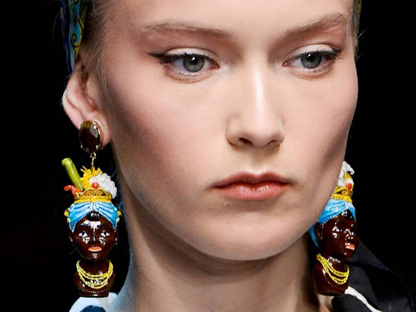 The Racial Stir Behind Dolce and Gabbana's 'Blackamoor' Earrings