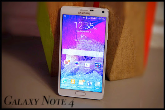 Galaxy Note 4 First Look