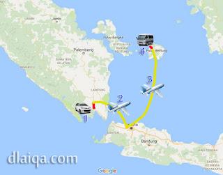 Lampung Ke Belitung Ala Turis