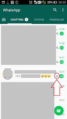 supaya grup whatsapp tidak berisik berbunyi terus