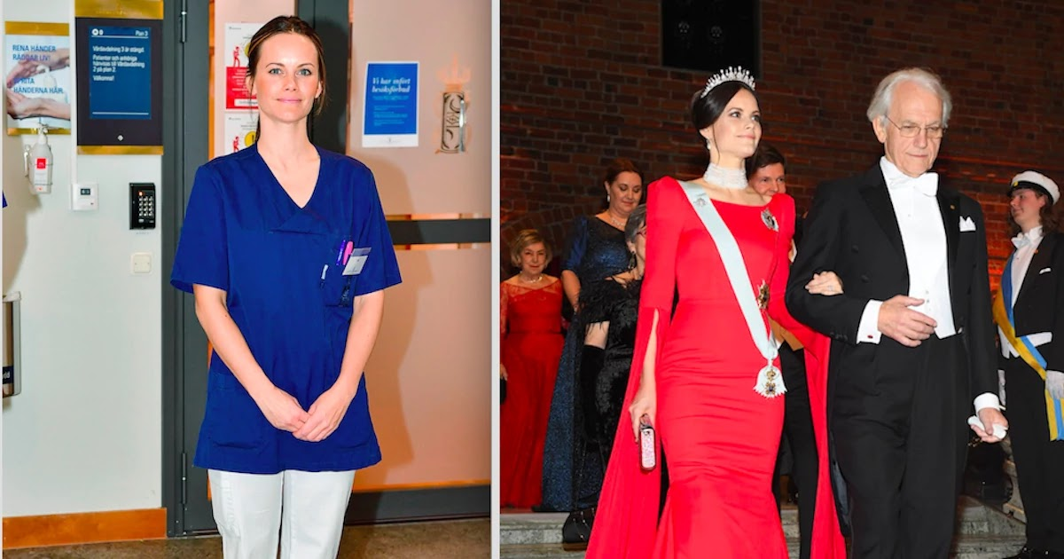 Princess Sofia of Sweden Has Become A Medical Assistant In An Attempt To Help Fight CoVid-19