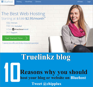 10 reason you should host your blog or website with bluehost
