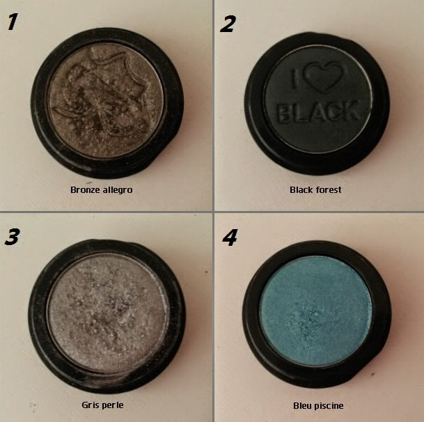 Monobulles ccb bronze allegro gris perle bleu piscine black forest