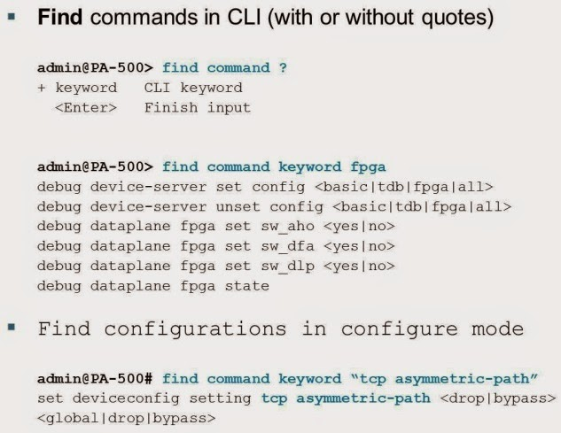 Palo Alto Command Line interface | Cyber Security Service