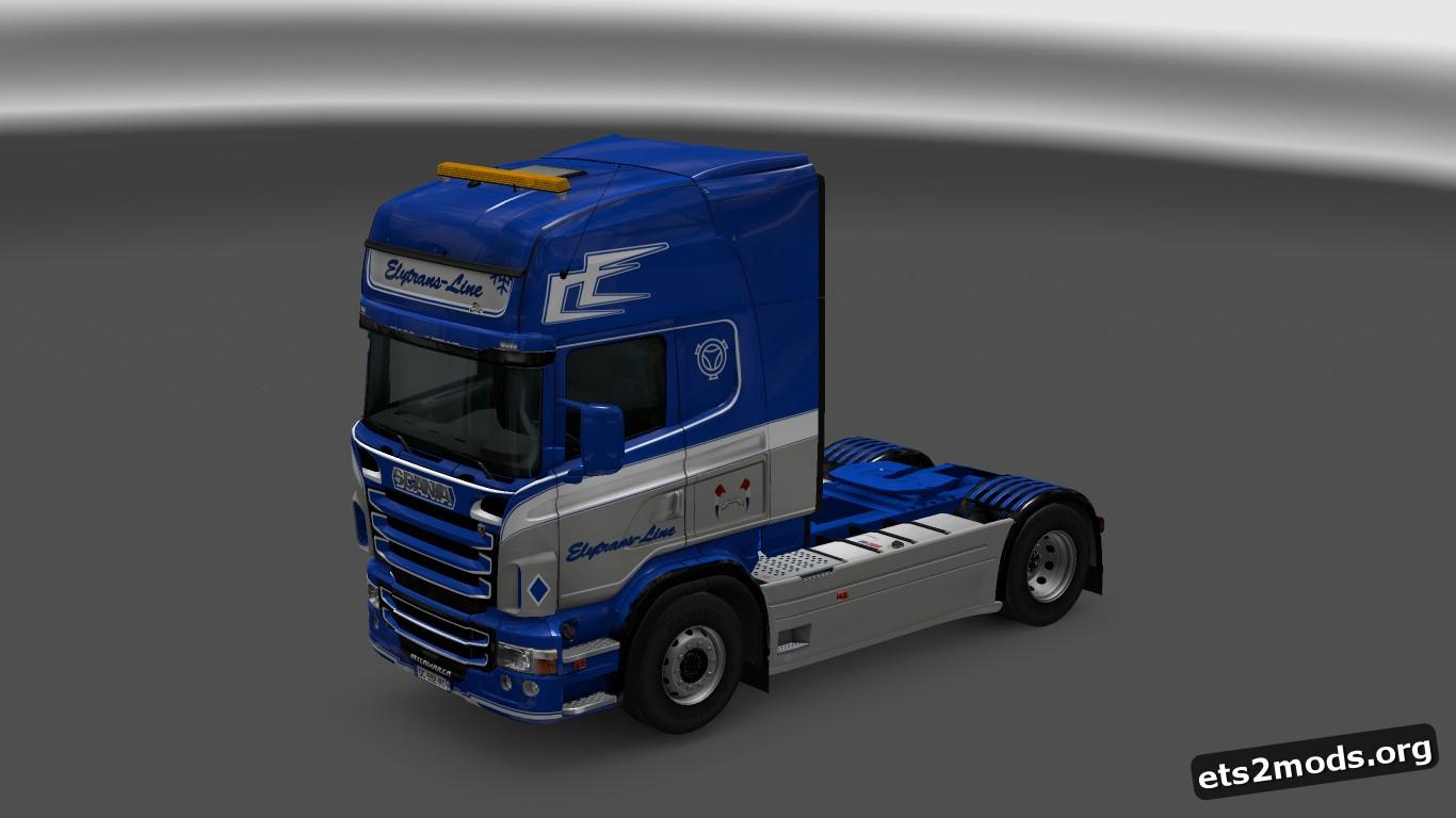 Scania RJL Elytrans Line Skin