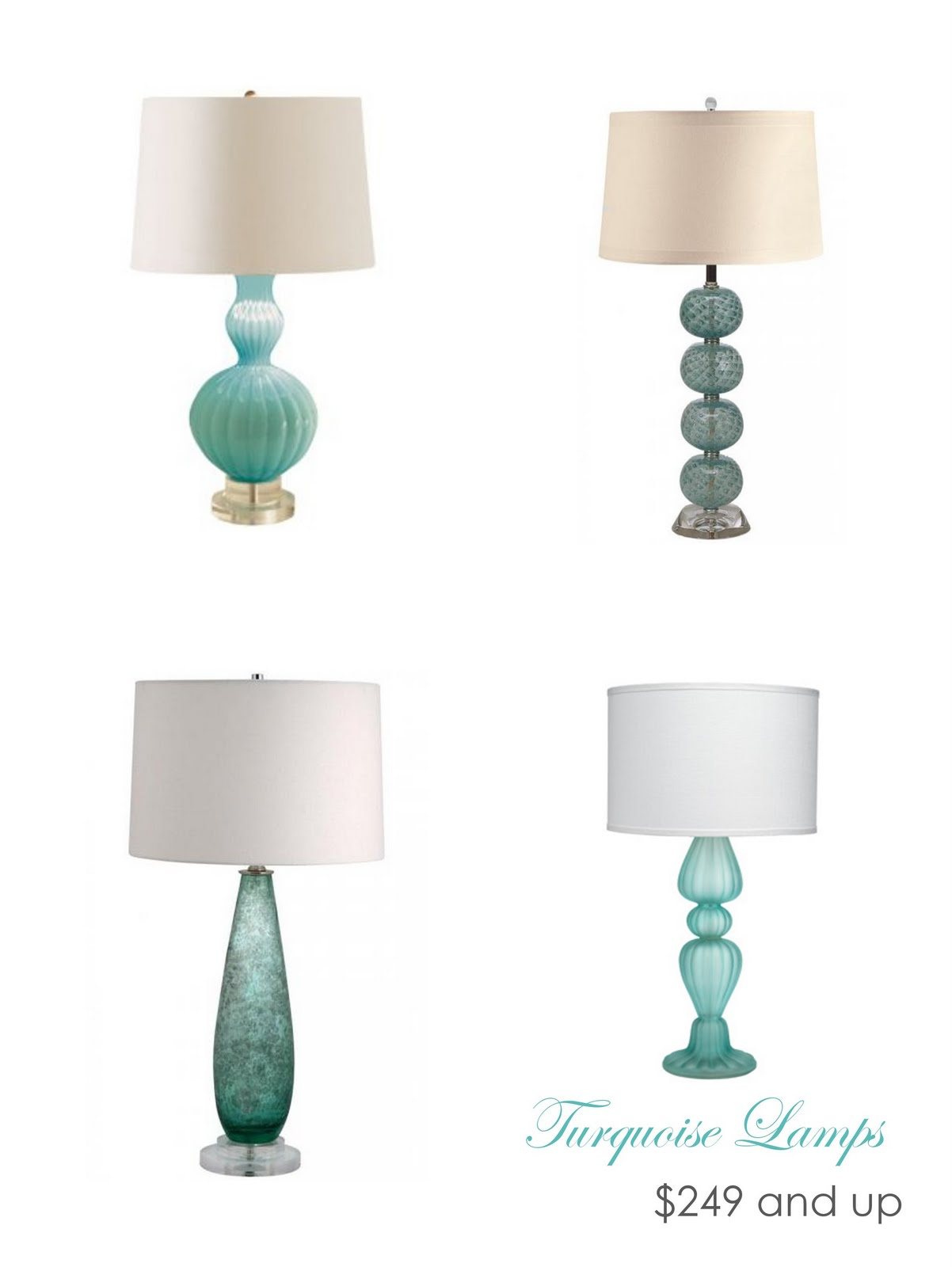 Lamps available here here here and here