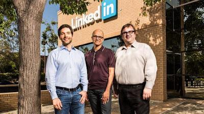 Microsoft pagara 26 mil millones de dolares por LinkedIn