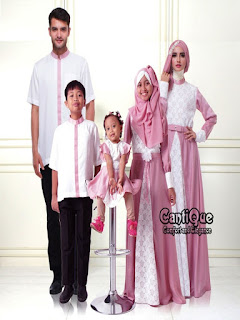 model baju seragam keluarga untuk lebaran 2018