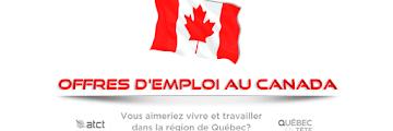 Quebec Recrute en Tunisie   أكثر من 200 عرض شغل في كندا