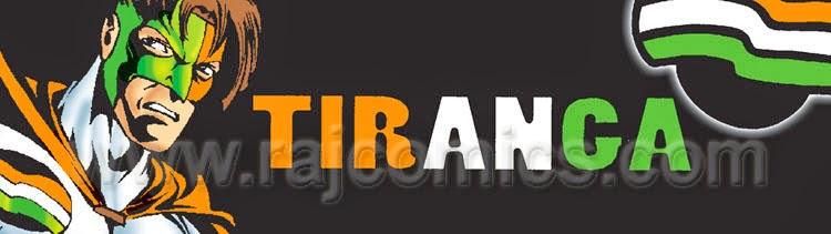 Tiranga Banner Raj Comics