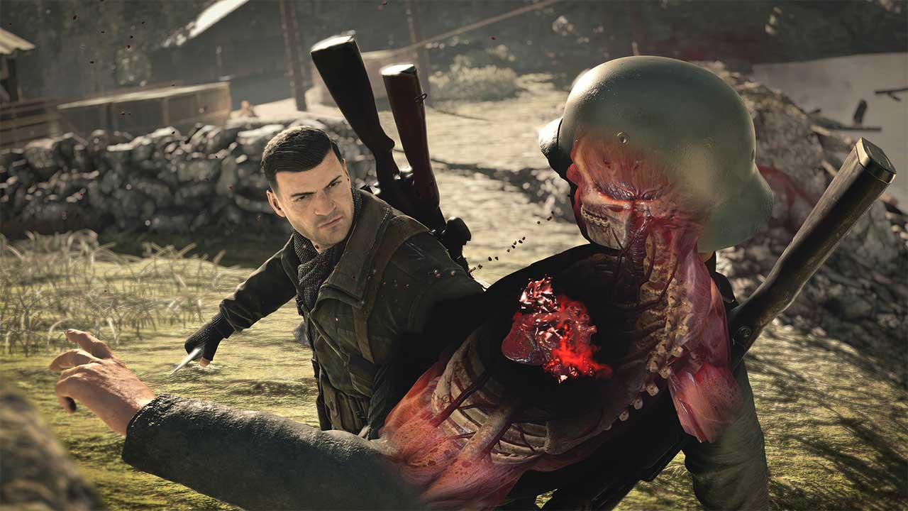 تحميل لعبة Sniper Elite 4