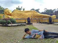 Patung Budha Tidur Mojokerto