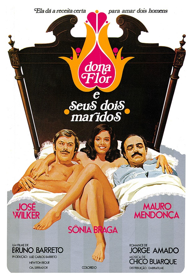 Dona flor e seus dois maridos, Ilustrações de Benício para o cinema, José Luiz Benício, Ilustrações de Benício