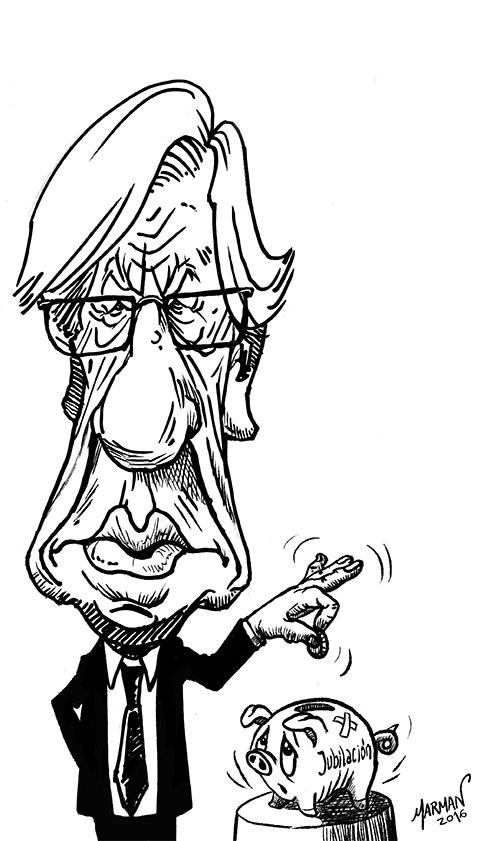 Caricatura Danilo Astori