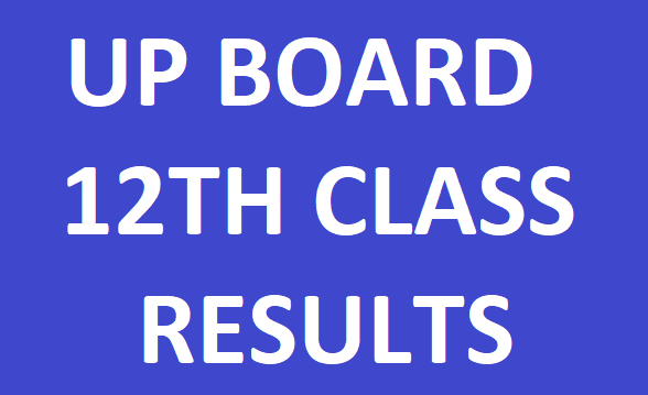 UP Class 12th Exam Results