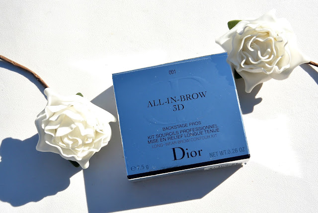 Dior brow palette review