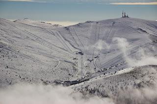 Estación de Esquí de Valdesquí en Madrid desde Peñalara