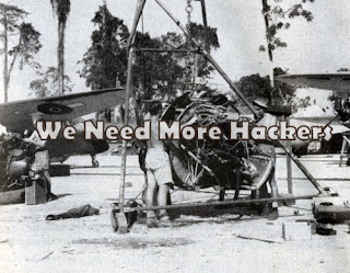 WWII Hackers, fixing airplanes