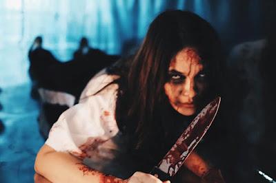 Luna Maya berperan dalam film horor