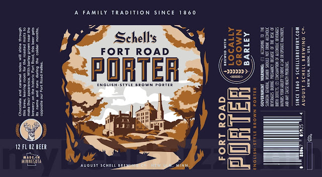 Schell's Fort Road Porter Coming To 12oz Cans