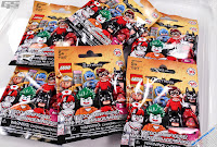 LEGO mini figures blind bags super heroes action figures Batman movie バットマン