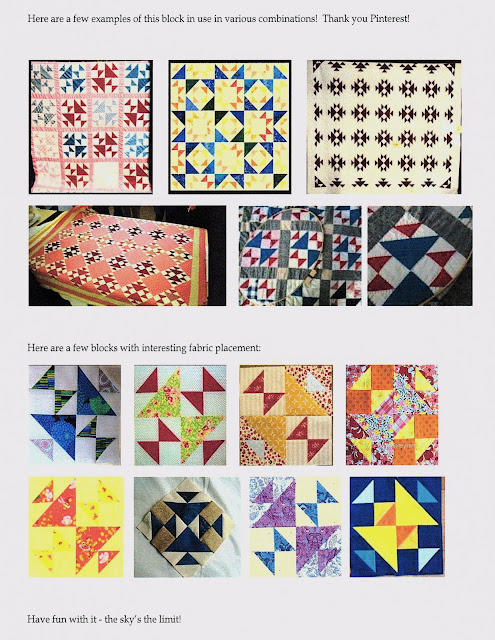 Old Maid Puzzle quilt block ideas and designs found on Pinterest