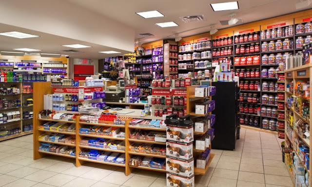 Lojas de suplemento alimentar em Miami