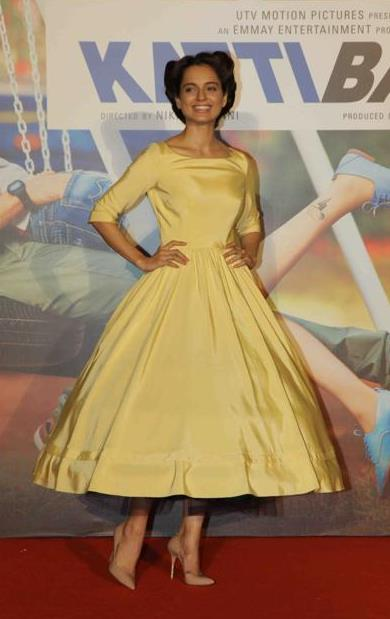 Kangana Ranaut, Katti Batti launch, Barbie Doll dress