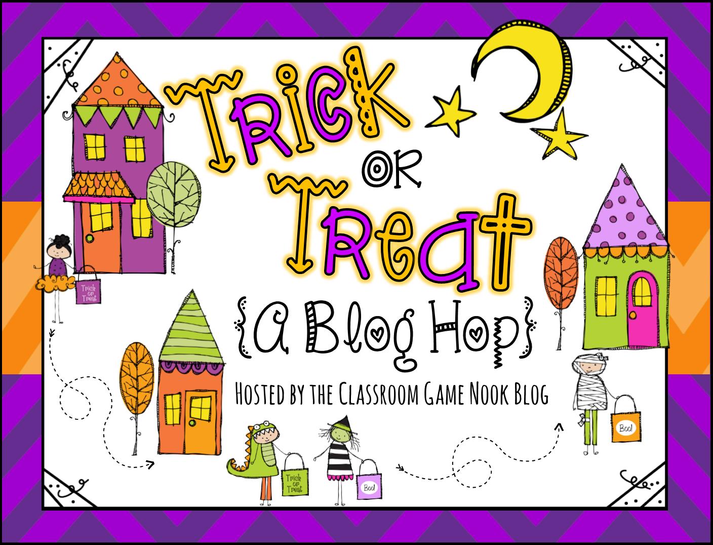 The Vivacious Teacher: Trick Or Treat! (A Fun Blog Hop!)