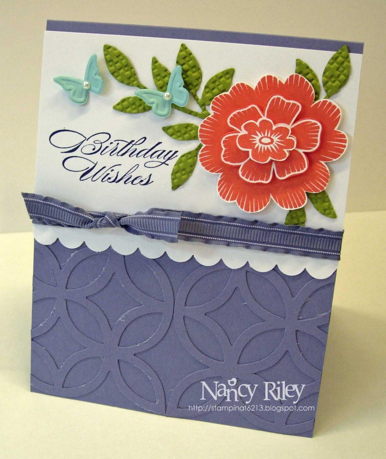 I STAMP By Nancy Riley: HAPPY BIRTHDAY, ALLIE