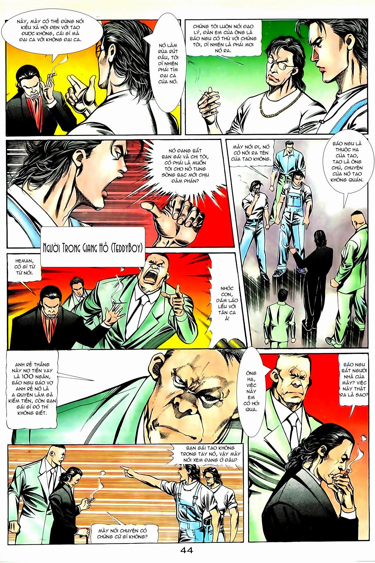 Người Trong Giang Hồ chapter 85: diệt môn trang 17